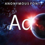 Anonymous Font