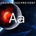Anonymous Pro Typeface