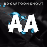 Bd Cartoon Shout Letters