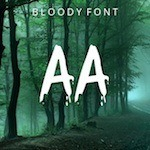 Bloody Typeface