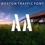 Boston Traffic Font