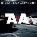 Distant Galaxy Font