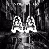 District Font