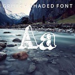 Grutch Shaded Font