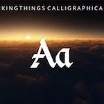Kingthings Calligraphica free