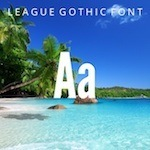 League Gothic Font