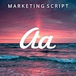 Marketing Script Font