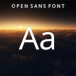 typography Open Sans