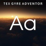 Tex Gyre Adventor Letters