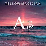 Display typography Yellow Magician