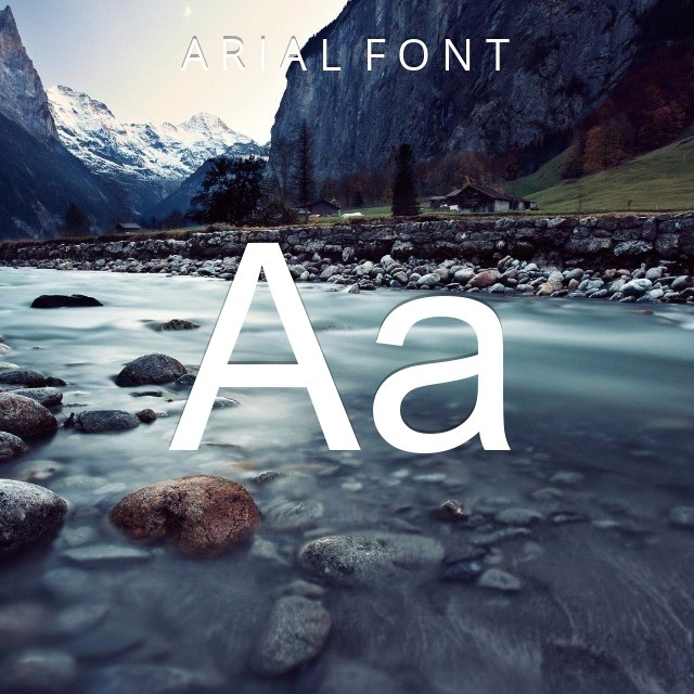 Arial Font [Download]