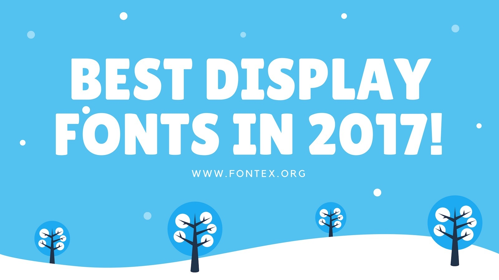 Display Fonts 2017